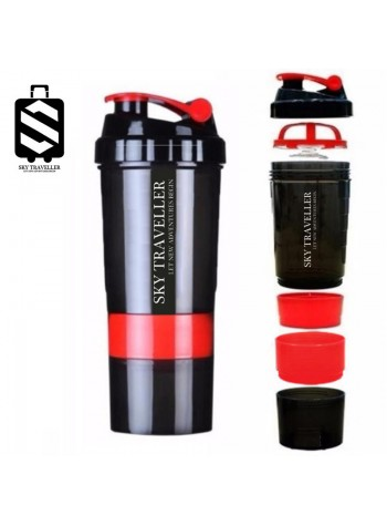 Fitness Sports Protein Shake Bottle Mixing Powder Blender Shaker Cup Mixer Water Drinkware