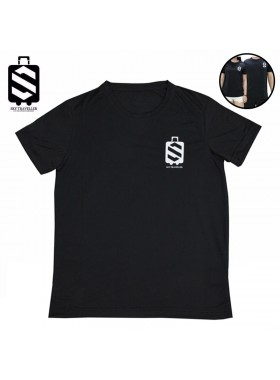 SKY320 Unisex Polyester Sport Fashion Short Sleeve Breathable Casual Running T-Shirt Dry Fit Powered By SPIN